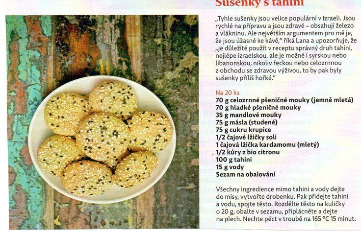 Sušenky s tahini