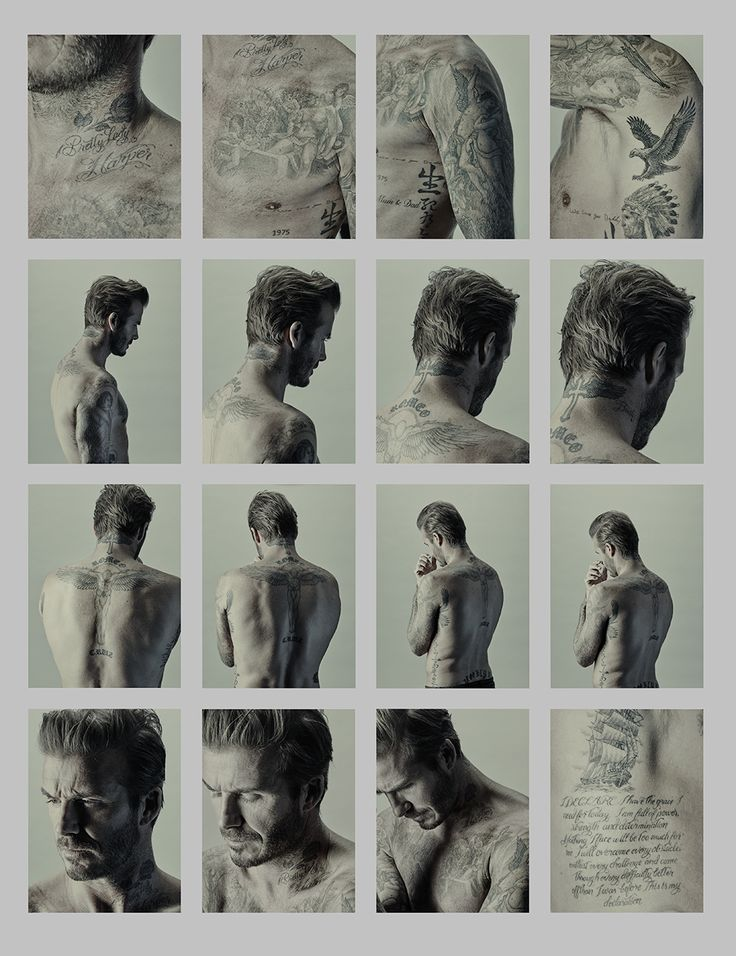 David Beckham photography auction at Phillips gallery | Harper's Bazaar