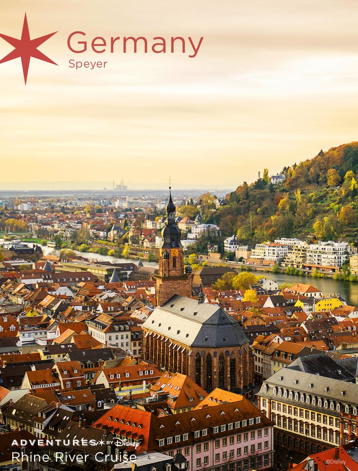 Travel through the storybook towns of Europe on the Adventures by Disney family river cruise along the Rhine River!