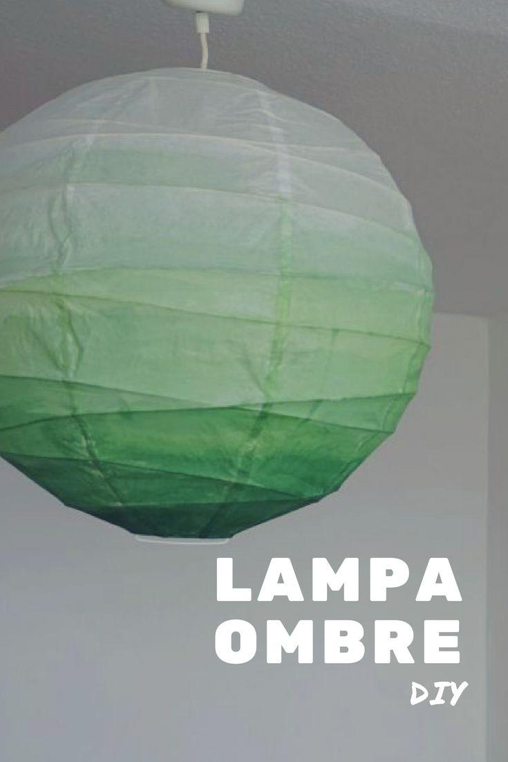 Diy Lampa Ombre Ikea Regolit Diy Ombre Papierlampen