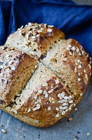 blissful eats with tina jeffers: Hazelnut honey oatbread: Hazelnut Oats, Hazel Honey, Honey Oats Breads, Breads Quick, Hazelnut Honey, Breads No Yeast, Oats Breads No, Breads Machine, Honey Oat Bread