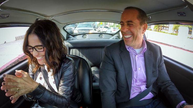 Julia Louis-Dreyfus Julia Louis-Dreyfus: I'll Go If I Don't Have To Talk - Comedians In Cars Getting Coffee by Jerry Seinfeld