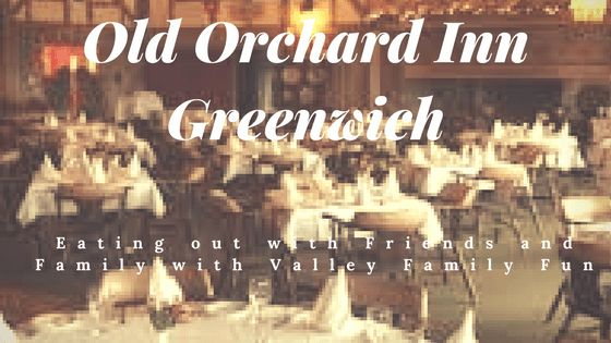 Eating out with Friends and Family at the Old Orchard Inn in Greenwich with www.ValleyFamilyFun.ca