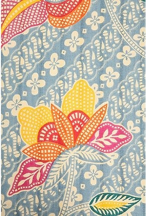 Batik--happy colors and gorgeous pattern!