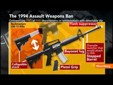 """Jan. 24 (Bloomberg) -- Senate and House Democrats will hold a news conference with law enforcement and gun safety groups to promote the introduction of assault-weapon-ban legislation by California Senator Dianne Feinstein and New York Representative Carolyn McCarthy. Megan Hughes reports on the gun control debate on Bloomberg Television's """"In Th..."""