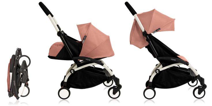 Babyzen YOYO+ 0+ Buggy in der neuen Farbe Ginger.  Passt ins Handgepäckt. Perfect wenn man mit Baby / Kleinkind in den Urlaub fliegen möchte.  Perfect for flying with babies