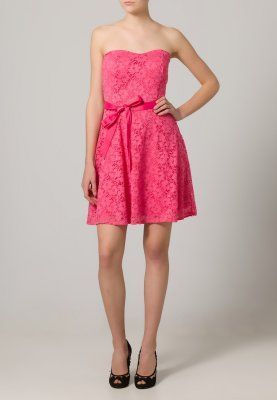 Romantisch-verspieltes Kleid in knalligem Fuchsia. Morgan ROPAI - Cocktailkleid / festliches Kleid - fuchsia für 59,95 € (24.01.16) versandkostenfrei bei Zalando bestellen. pink Dress