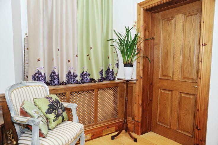 100% Silk Duppion Curtains by Anna Dempsey Designs