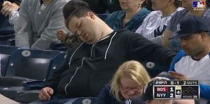 Sleeping Yankees Fan Suing ESPN and MLB for $10 Million