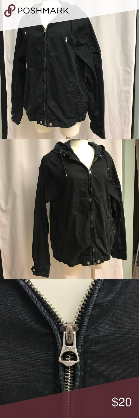 POLO Ralph Lauren Vintage Look Jacket Black Vintage Look Polo Jacket. Size medium. Unisex. Smoke free home! Polo by Ralph Lauren Jackets & Coats Utility Jackets