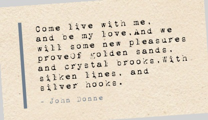 donne essay john love negative poem
