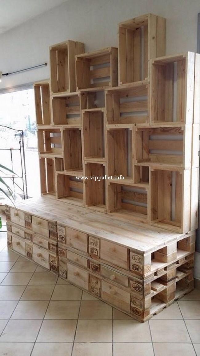 amazing diy pallets cabinet pallet cabinet in 2019 pallet rh pinterest com