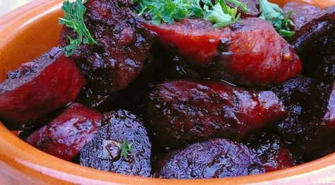 Chorizo in rode wijn - Lovemyfood.nl