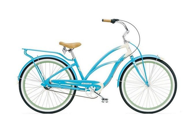 Remember fun? Imagine where you could go on a SUPER DELUXE 3i by Electra--available in aqua/cream. Explore the wide variety of stylish, creative designs and find the perfect Cruiser to suit your individuality and imagination.