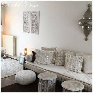 Salon blanc oriental