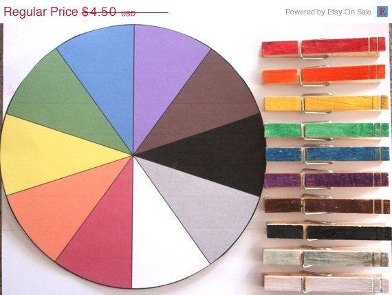 Color Matching Preschool Activity