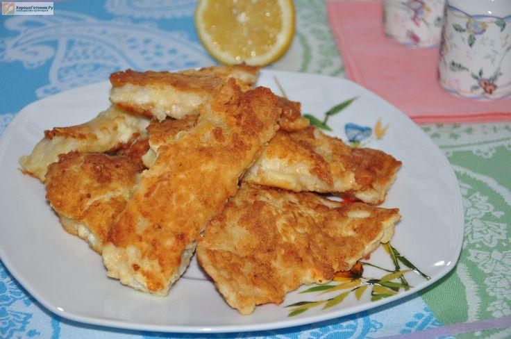 Рыба в сырном кляре  Автор: Людмила Семенюк