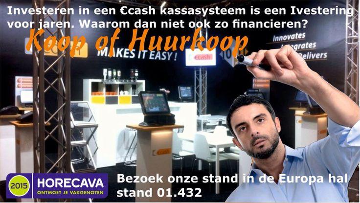 Tonit eigen #financiering voor horeca kassasysteem op de beurs #Horecava Amsterdam 2015