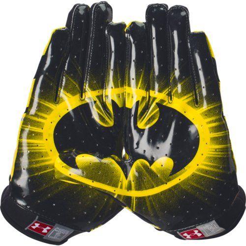 all gold football gloves