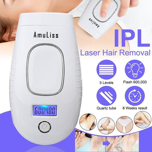 New 5 Settings Laser Permanent Hair Removal 600 000 Times Fast Flash Intense Pulsed Light Ipl