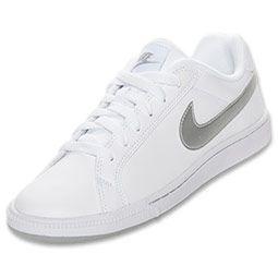 Womens Nike Air Majestic Casual Shoes  FinishLine.com  WhiteGrey