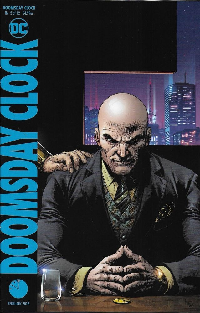 Dc Doomsday Clock Comic Issue 2 Limited Variant Doomsday Clock