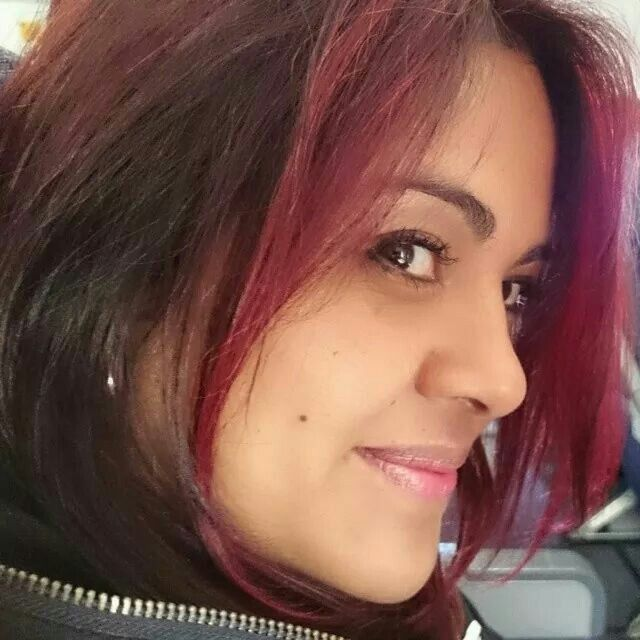 #Dark #red #hair #colour#alejandro #adriano #peluqueria