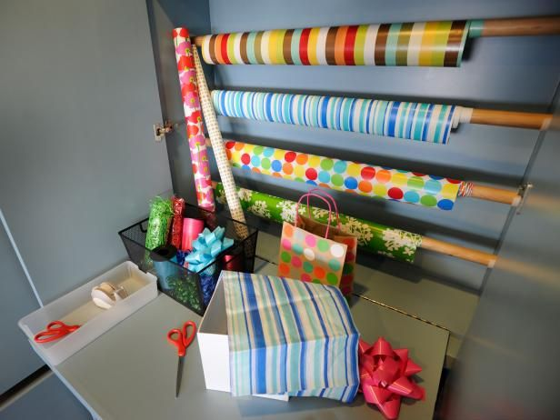With some planning, you can have a user-friendly space in your home for craft projects and prepping gifts.