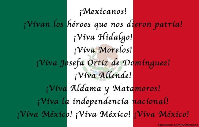 "The ""Grito"" that the President of Mexico makes the night of September 15 in El Zócalo during Independence celebrations."
