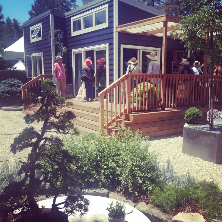 Sunset Magazine presents The New Backyard Cottage at Sunset Celebration Weekend 2015. Visitors were invited to tour the home.
