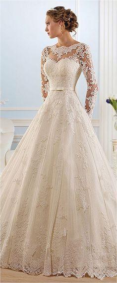 classic romantic elegant wedding dresses