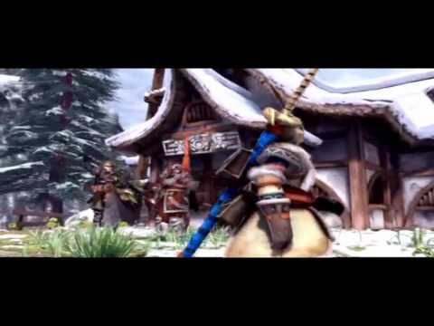Monster Hunter freedom 2 intro (CGI)