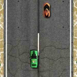 Ben 10 Car Chase - Juegos de cartoon network