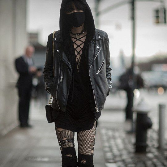 Nu Goth — socialpsychopathblr:   Sora Choi - New York...