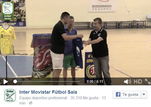VÍDEO: RESUMEN: Inter Movistar 5-3 Peñíscola. Pretemporada. Segorbe.