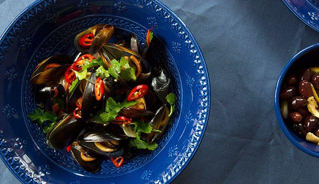 Recipe Chilli Mussels