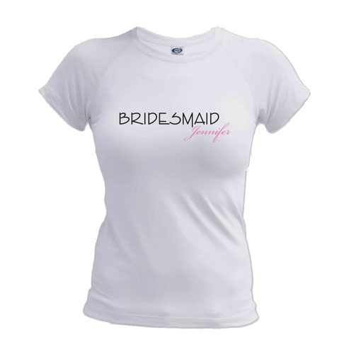17 best images about personalized wedding party gifts on for Custom print t shirt no minimum