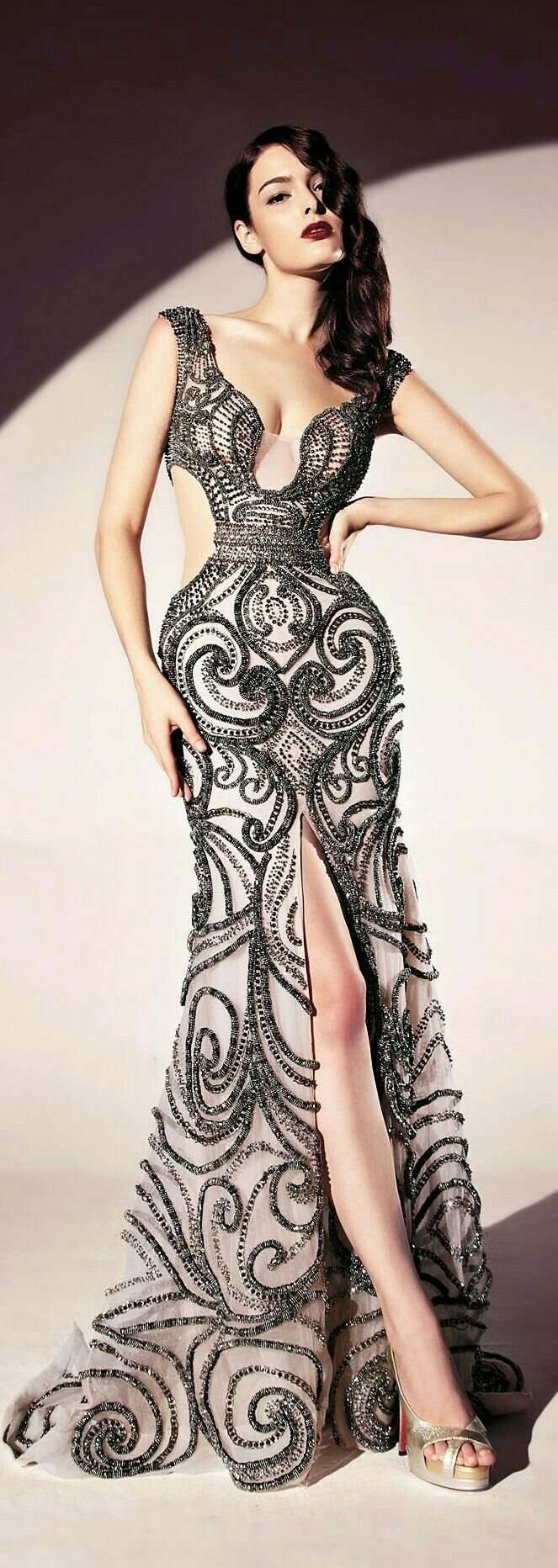 Lace bra under dress september 2019  best Runway Ready images on Pinterest  High fashion Party