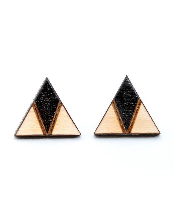 Core - Arrow Head Earrings - Black – Daisy Chain Store