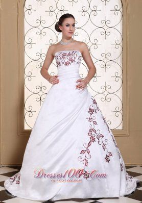 wedding dresses with colour - Google Search