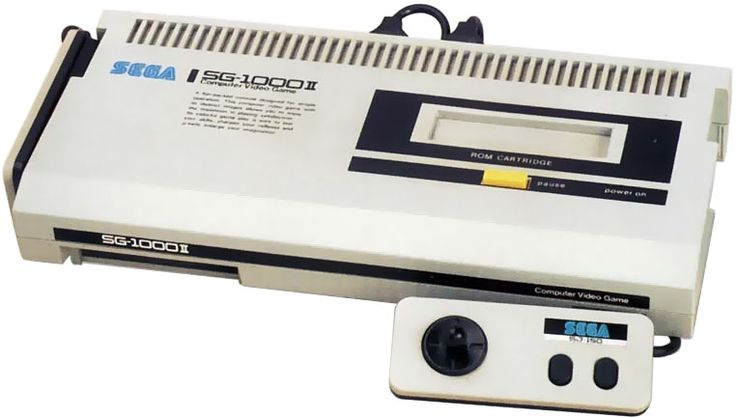 SG-1000 II (alias Mark II) - Sega - 1984