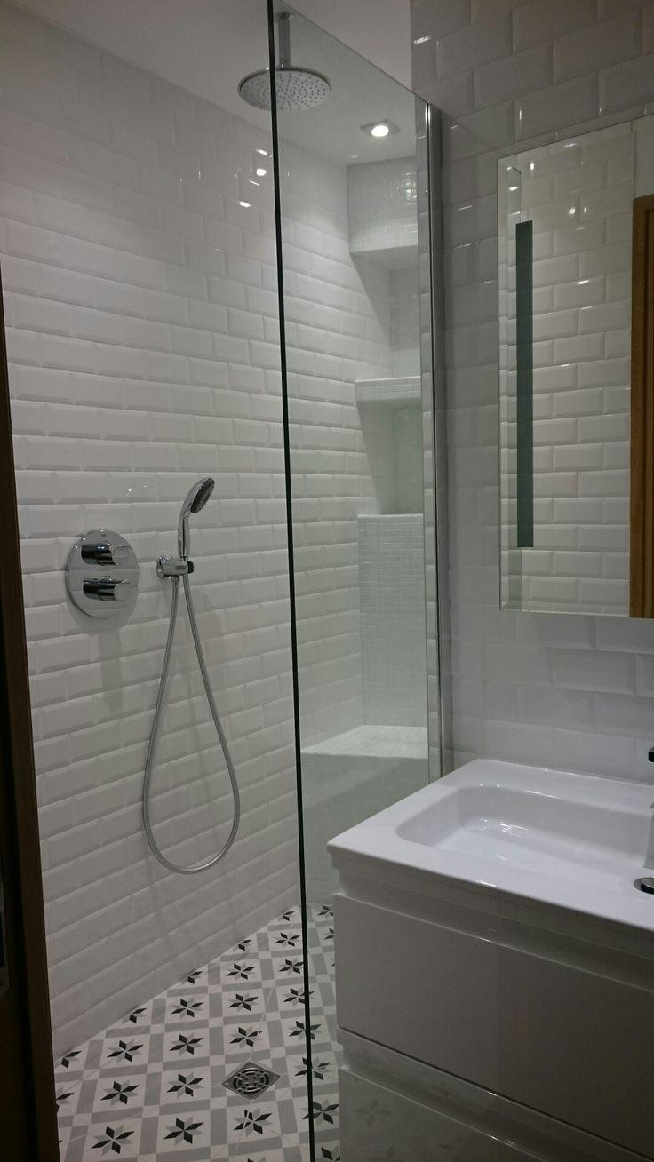 Carrelage Mural Imitation Carreau De Ciment impressionnant rnovation salle de bain lyon en cloison
