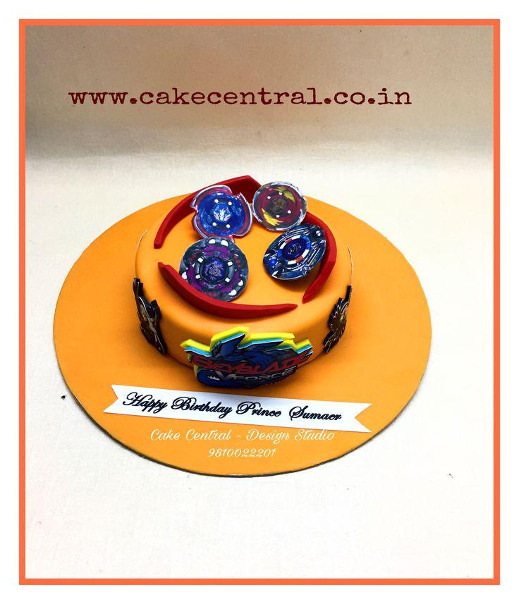 Beyblade Cake Delhi NCR Cake for Boys . Designer Cakes in Delhi NCR online