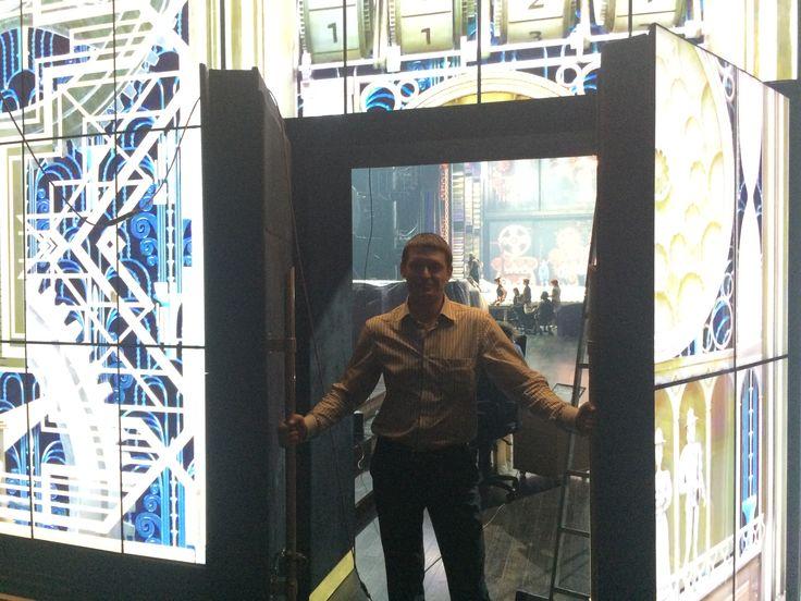 Doors with 8 screens