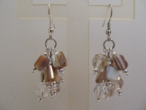 South Sea Earrings by AccessoriesByAngie on Etsy, $14.00