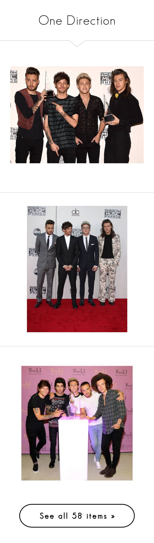 """""""One Direction"""" by grace-food-lover ❤ liked on Polyvore featuring one direction, people, pictures, perfume, beauty, beauty products, no color, challenges, quotes and words"""