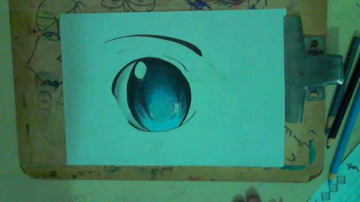 Como Colorir Olhos no Estilo Mangá -  3 Maneiras Diferentes