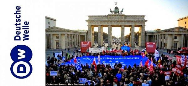 Conspiracy Feeds: Deutsche Welle: «Η Ελλάδα δεν είναι μόνη της» (ΦΩΤ...