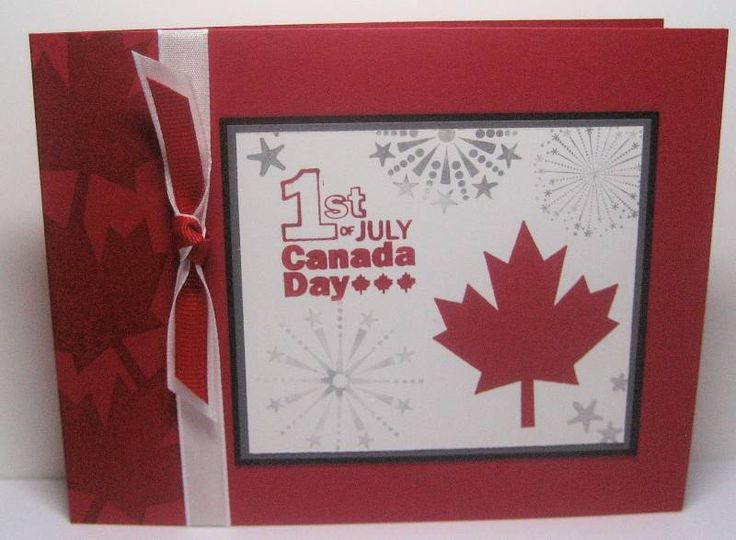 Canada Day by gibsmar - Cards and Paper Crafts at Splitcoaststampers