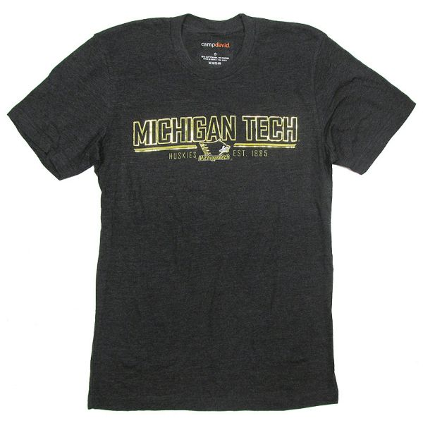 david products michigan forward michigan tech t shirt by camp david. Black Bedroom Furniture Sets. Home Design Ideas